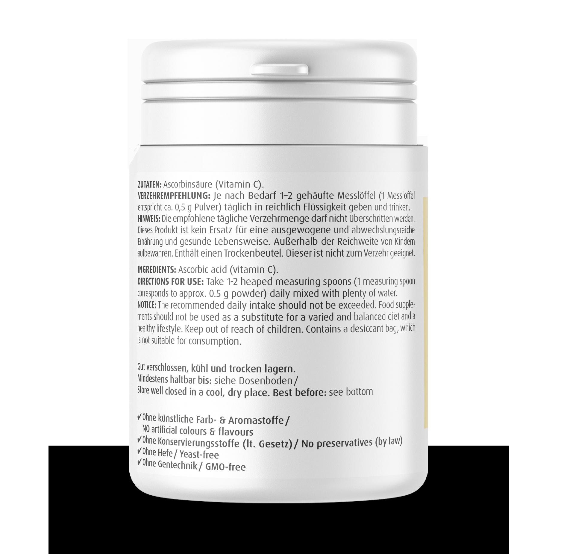 Vitamin C Mono Pulver  250 g