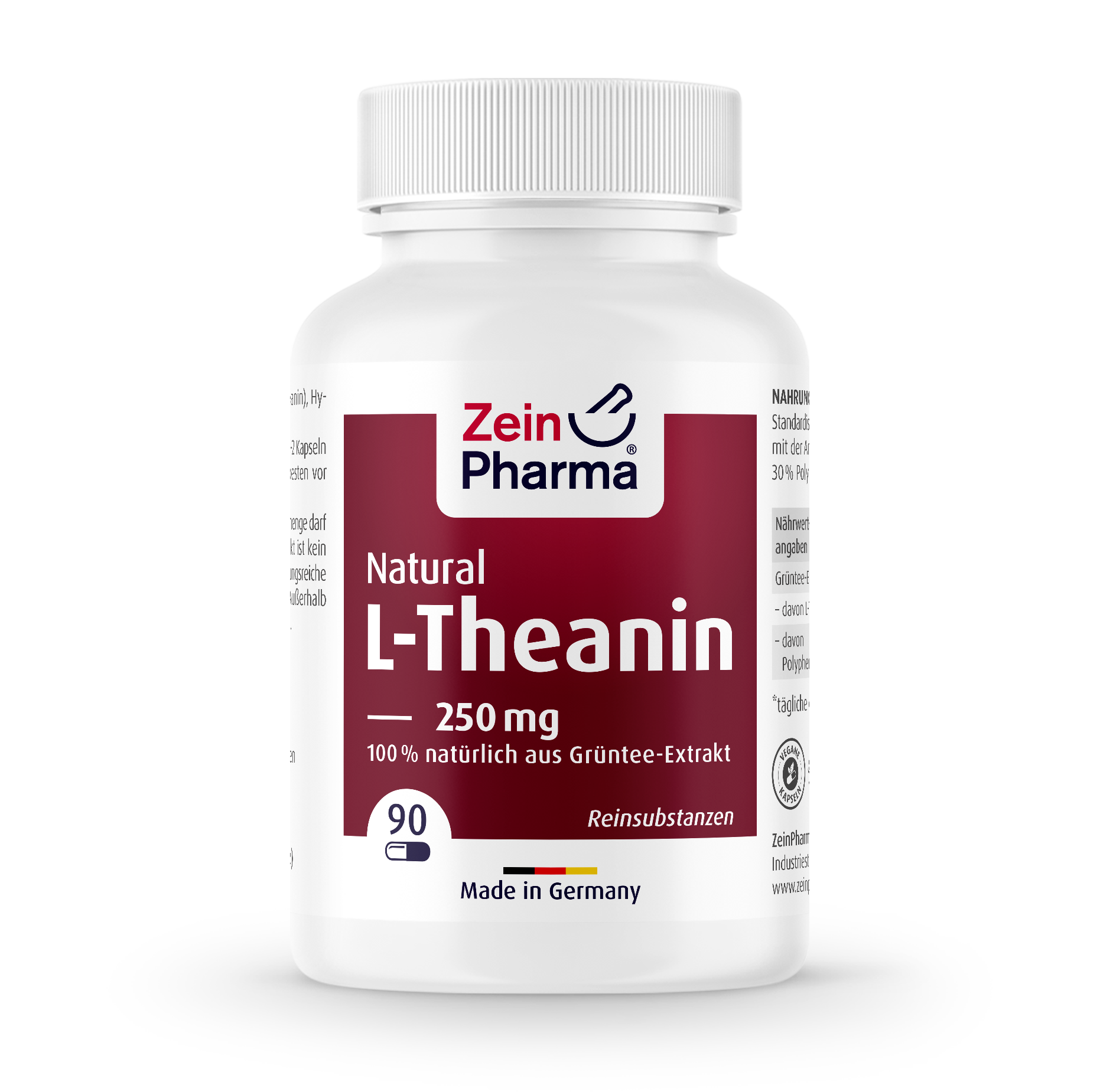 L-Theanin Natural Kapseln 250 mg