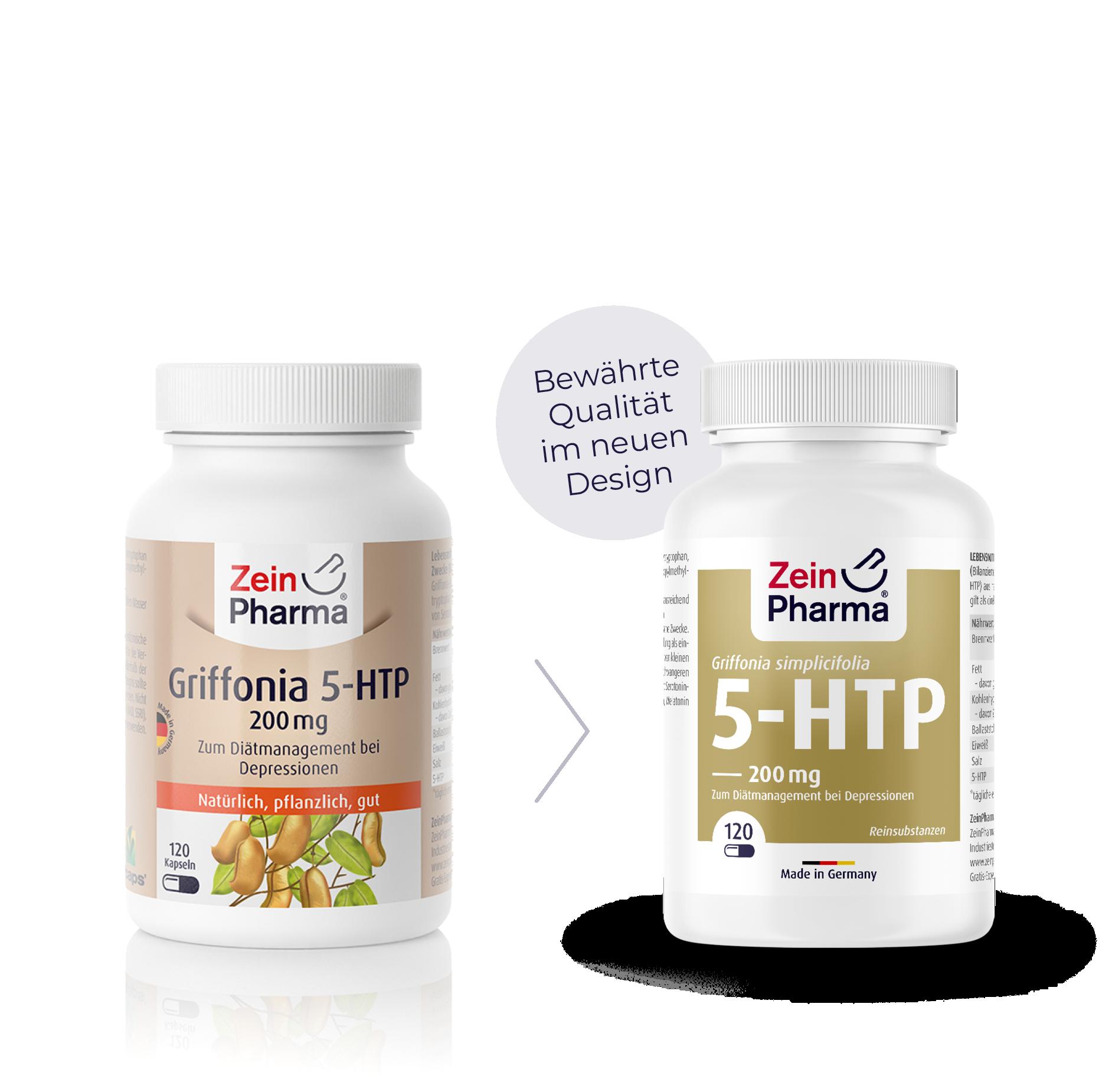 Griffonia 5-HTP 200 mg Kapseln