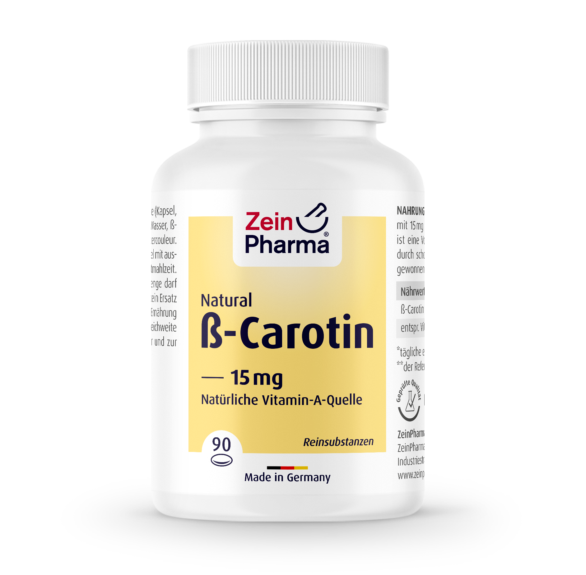 Beta-Carotin Natural Softgel-Kapseln