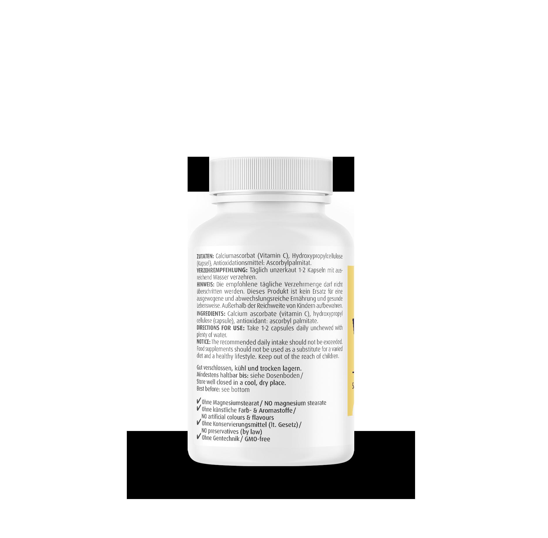 Vitamin C gepuffert 500 mg