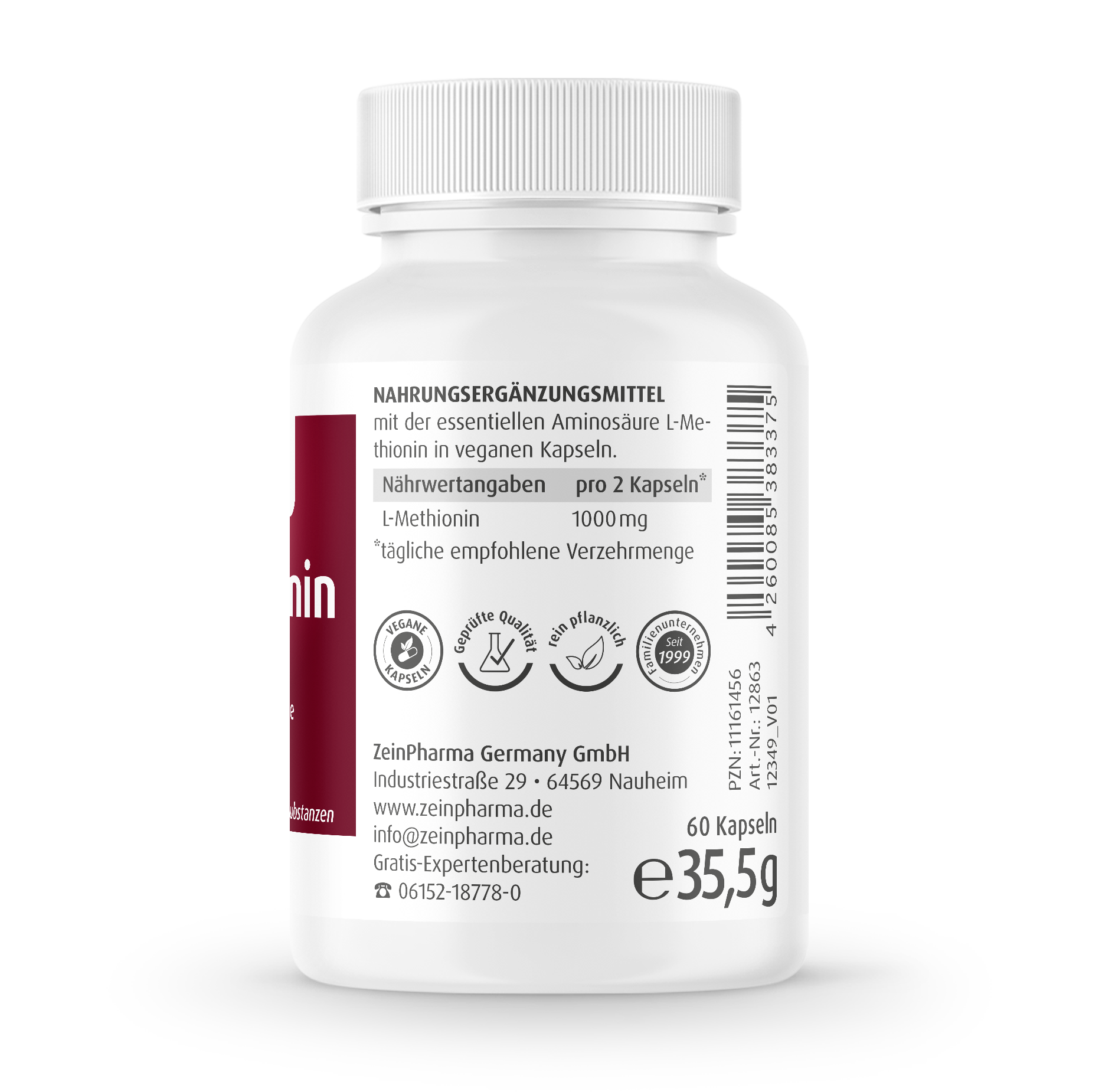 L-Methionin Kapseln
