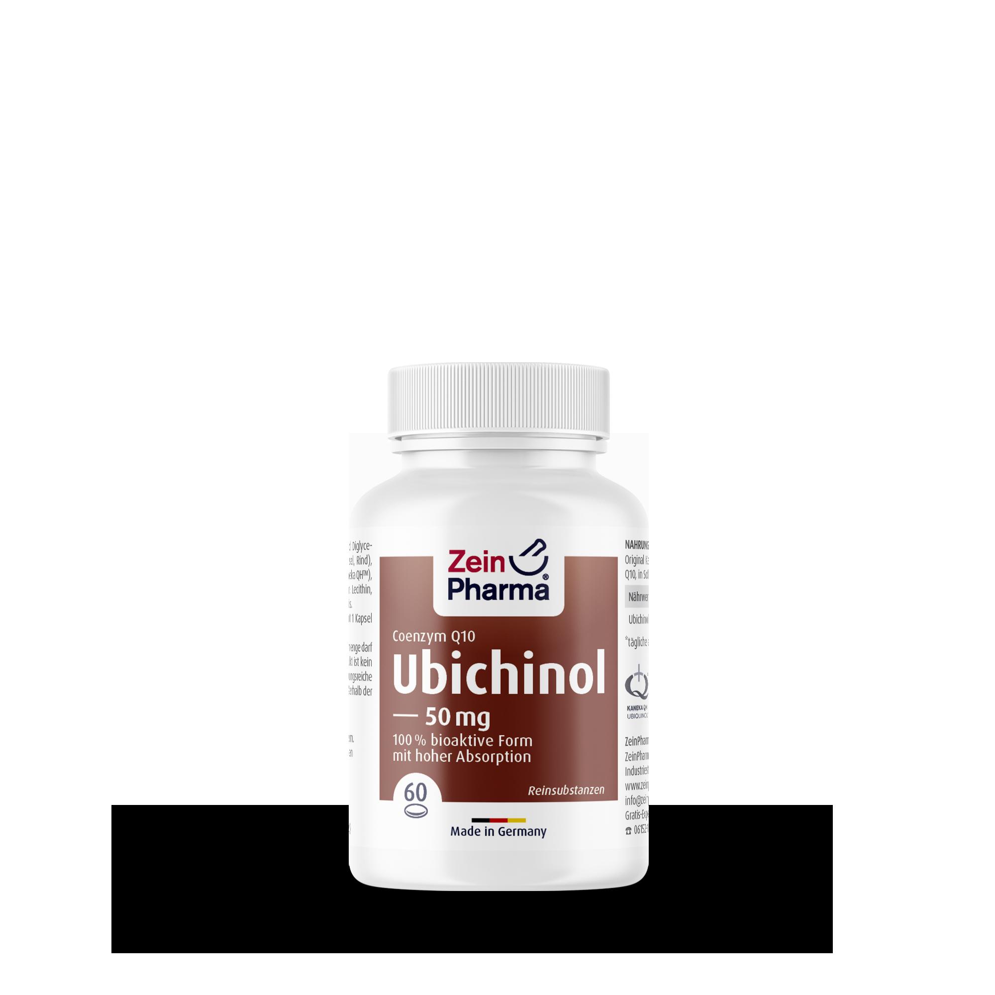 Coenzym Q10 Ubichinol 50 mg