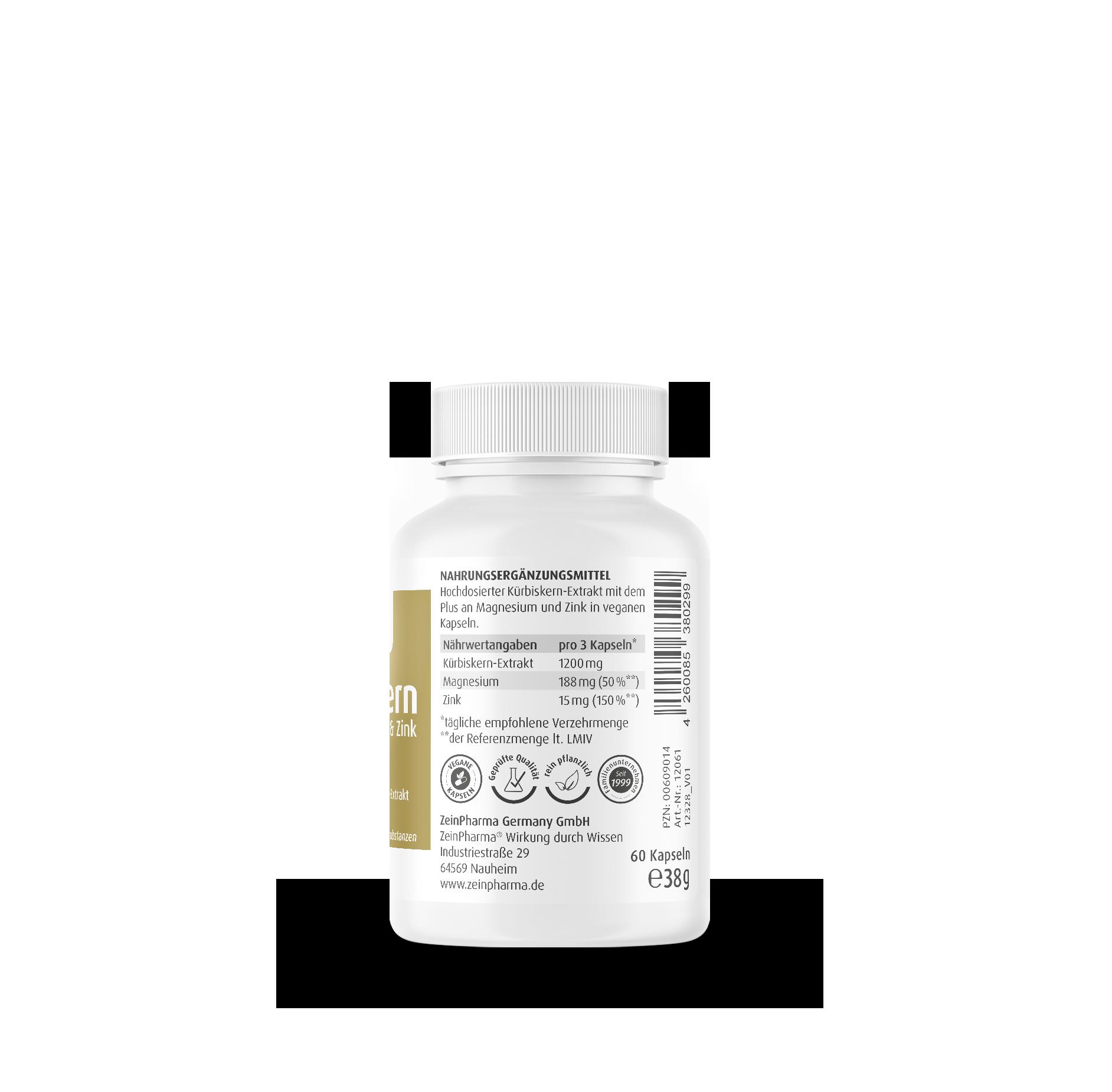 Kürbiskern 400 mg