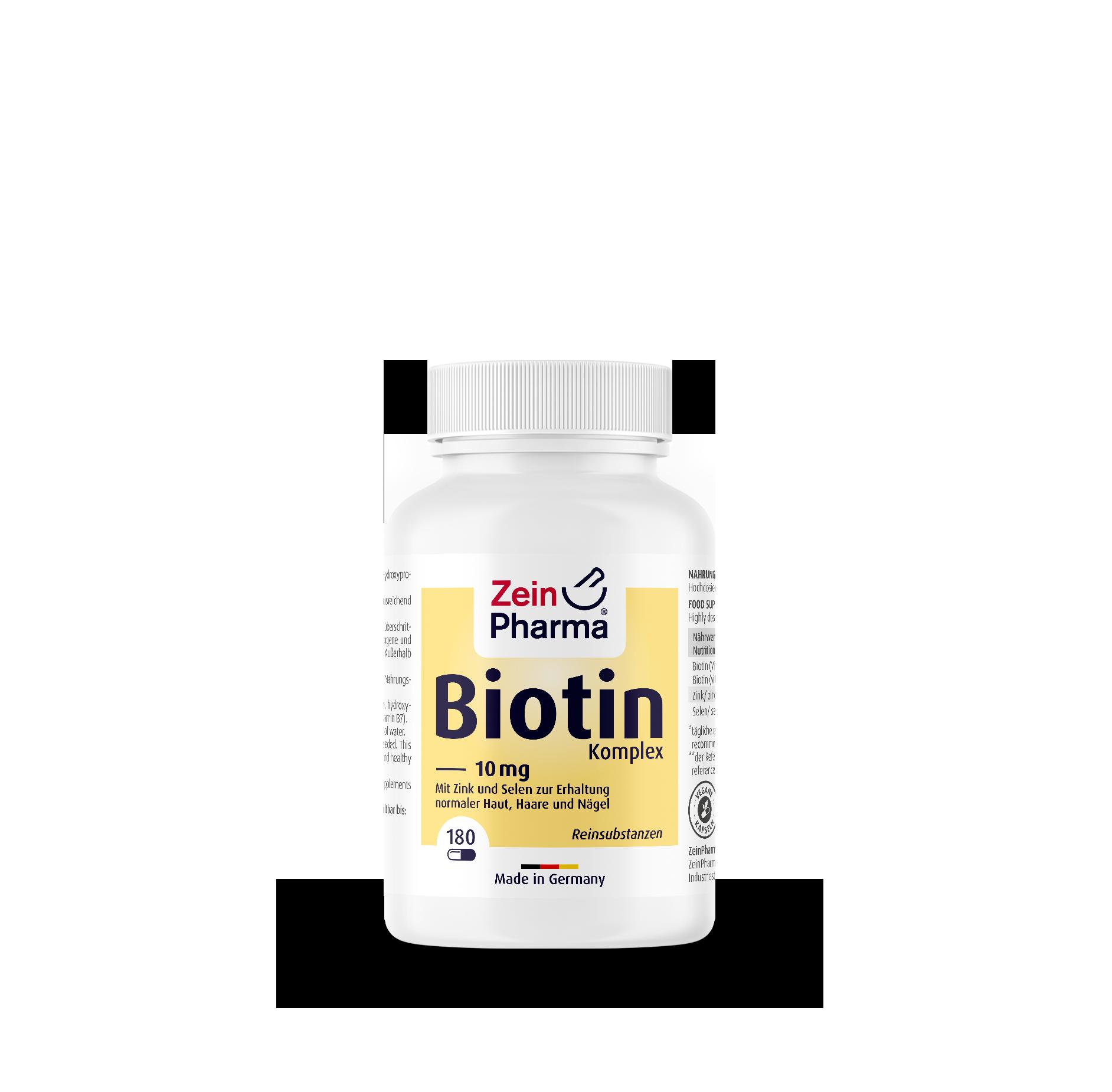 Biotin Komplex Kapseln