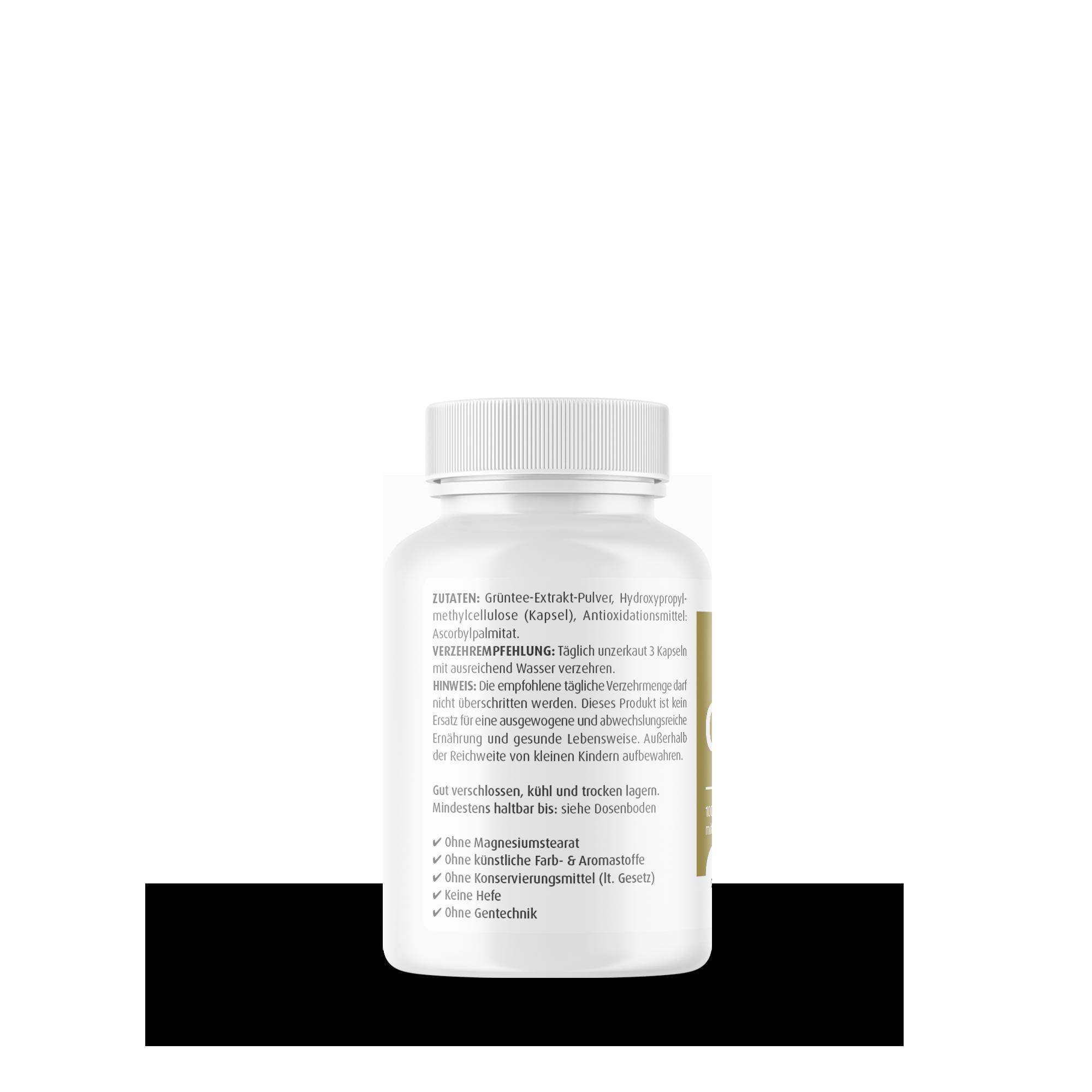 Grüntee Deluxe 500 mg
